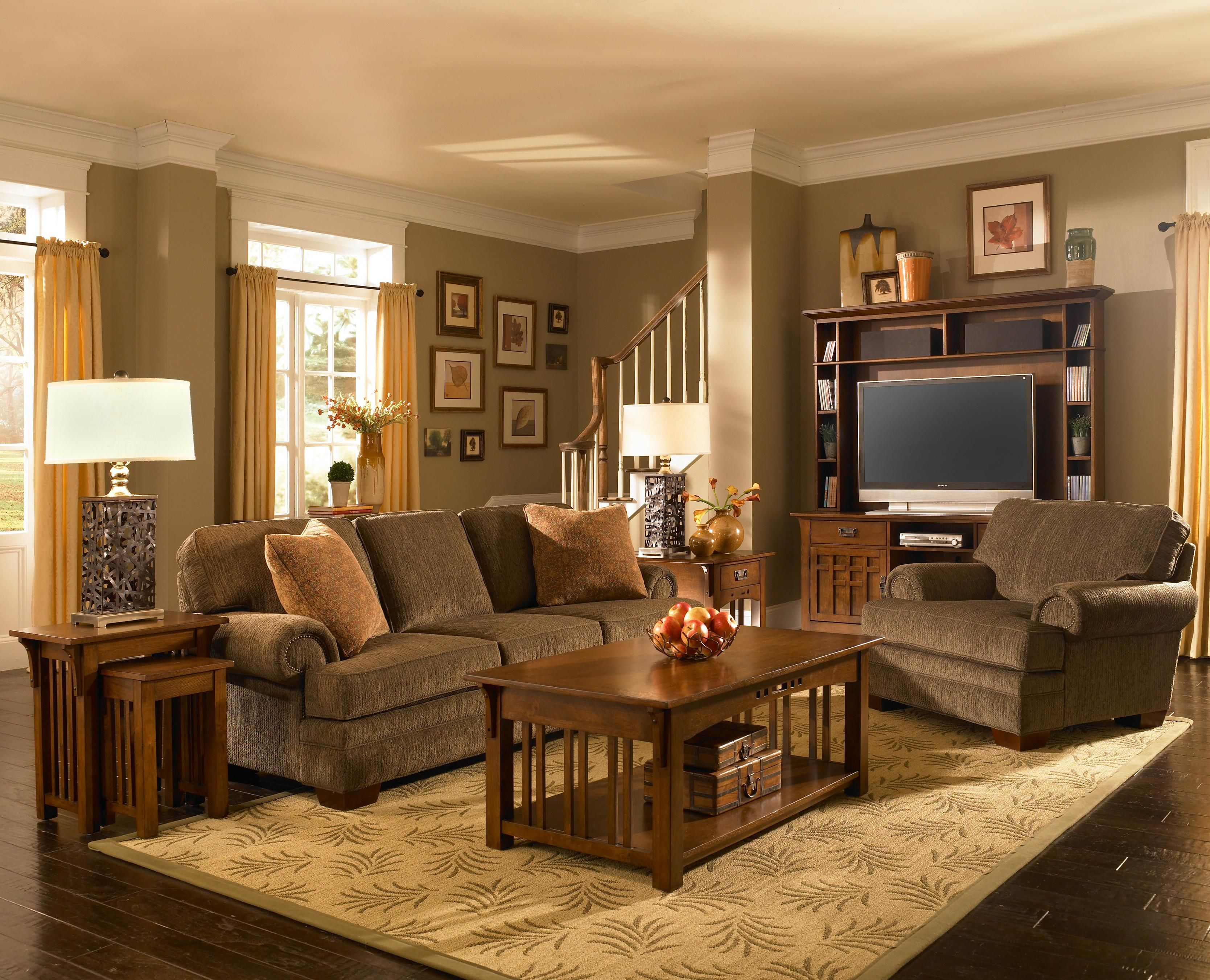 Thinking About Replacing My Two Couches With A Couch And Chair throughout 13 Some of the Coolest Ideas How to Make Mission Style Living Room Set