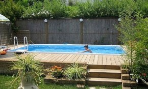 Top 27 Diy Above Ground Pool Ideas On A Budget Pools And Hot Tubs with 14 Smart Designs of How to Upgrade Backyard Landscaping Above Ground Pool