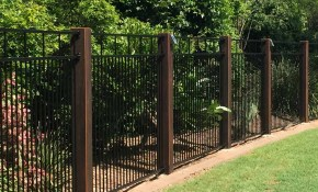 Yard Fencing 10 Modern Fence Ideas Family Handyman inside Backyard Metal Fence