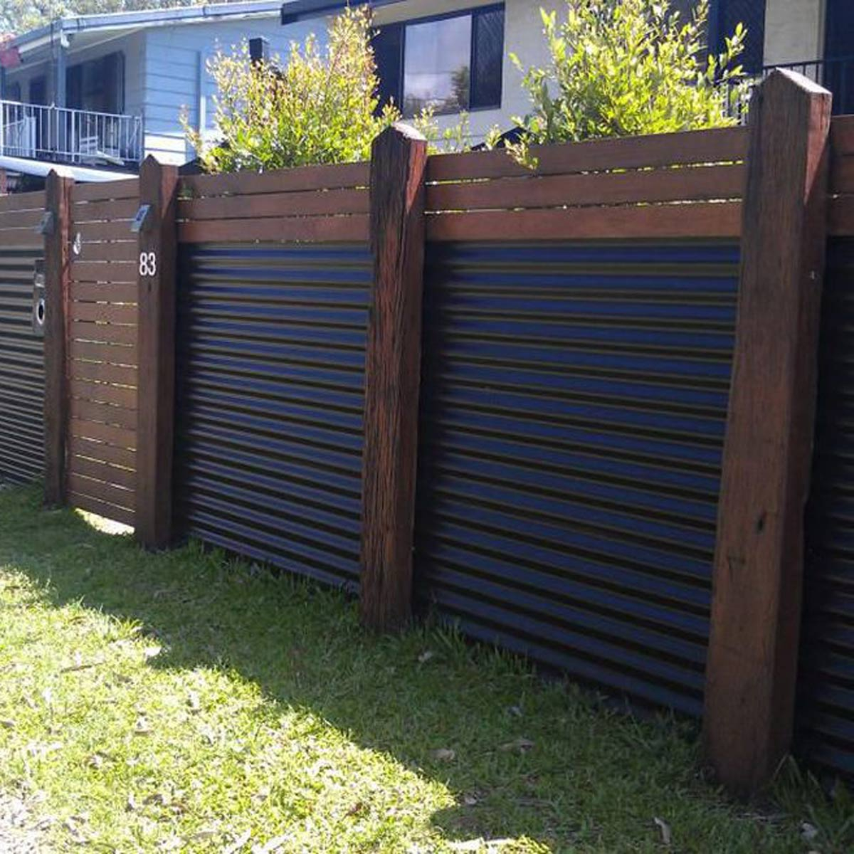 Yard Fencing 10 Modern Fence Ideas Family Handyman within Backyard Metal Fence