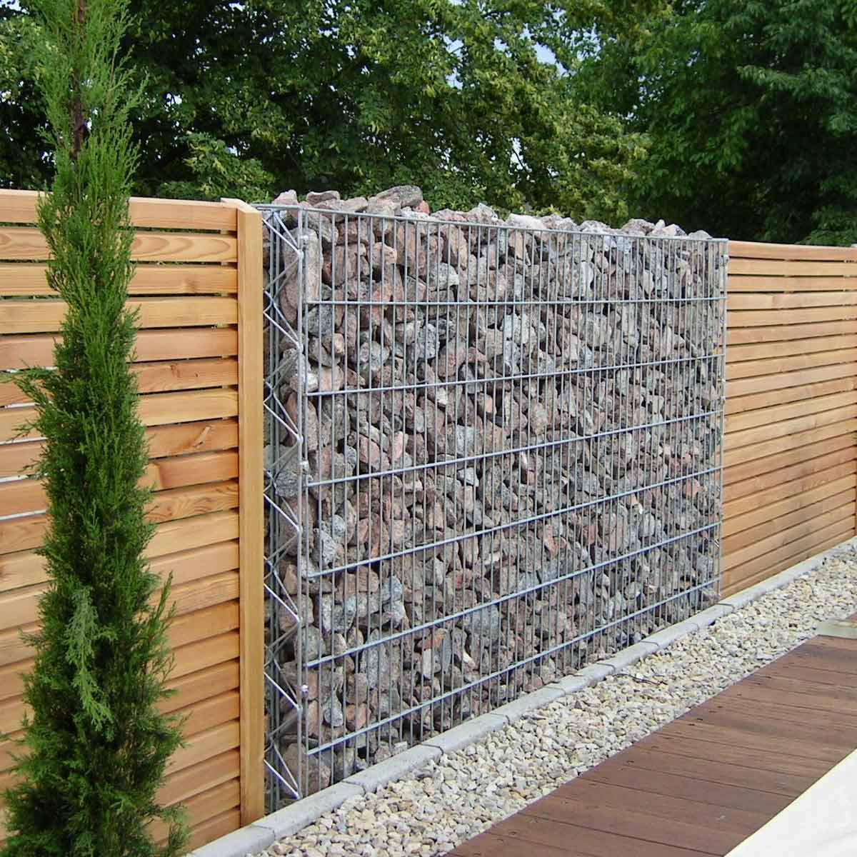 Yard Fencing 10 Modern Fence Ideas Family Handyman within Fencing Options For Backyard