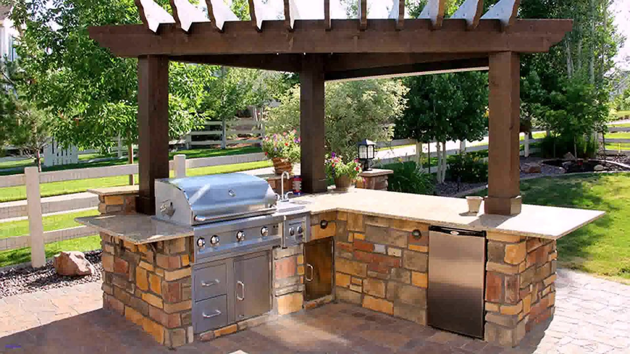 10 Awesome Concepts Of How To Build Backyard Bbq Area Design regarding Backyard Bbq Design Ideas