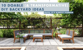 10 Doable Diy Ideas To Transform Your Backyard throughout Diy Backyard Patio Ideas