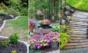 14 Cheap Landscaping Ideas Budget Friendly Landscape Tips within 11 Smart Ways How to Improve Small Backyard Ideas On A Budget