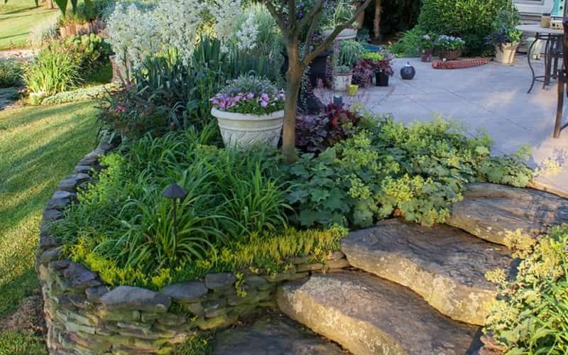 20 Sloped Backyard Design Ideas Sloping Backyard Sloped intended for 14 Some of the Coolest Concepts of How to Build Landscape Design For Sloped Backyard