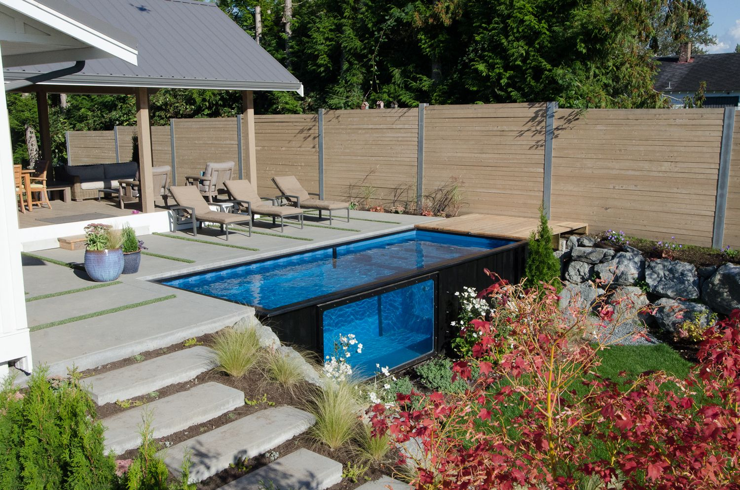 22 In Ground Pool Designs Best Swimming Pool Design Ideas For Your in 12 Clever Designs of How to Build Backyard Pool Landscaping Pictures