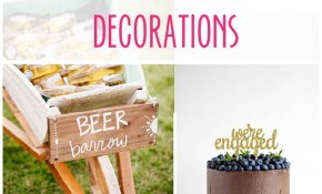25 Amazing Diy Engagement Party Decoration Ideas For 2019 with regard to Backyard Engagement Party Decorations