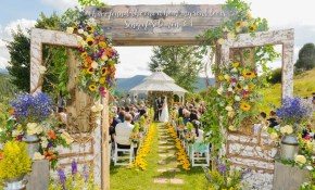 42 Unique Ways To Personalize Your Wedding Ceremony Ideas And for Small Backyard Wedding Ceremony Ideas