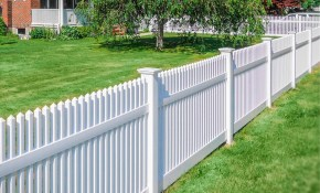 42 Vinyl Fence Home Decor Ideas For Your Yard Illusions Fence pertaining to Fencing For Backyard