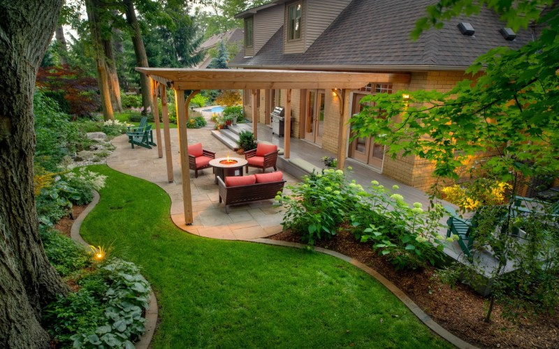 50 Backyard Landscaping Ideas To Inspire You pertaining to 10 Smart Tricks of How to Makeover Landscape Backyard