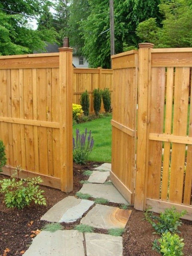 55 Incredible Fence Ideas For Back Yard And Front Yard regarding 12 Genius Designs of How to Make Backyard Wood Fence Ideas