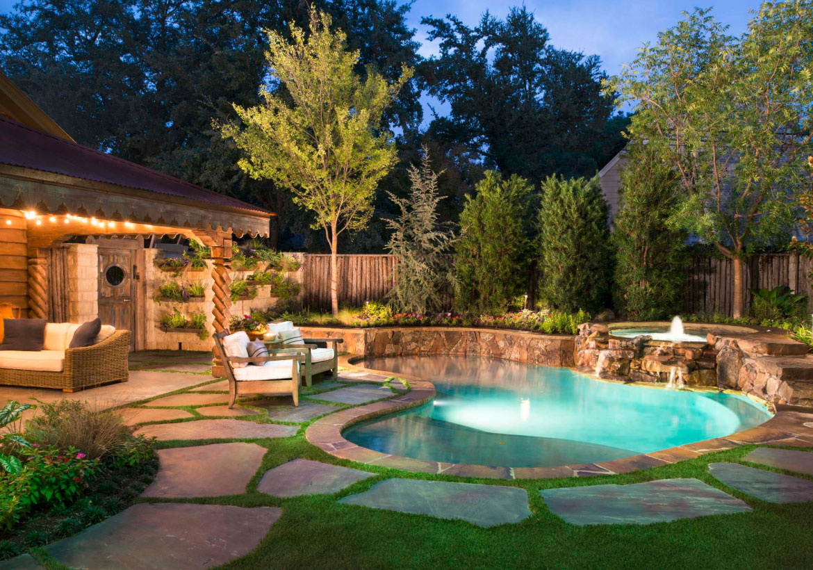 63 Invigorating Backyard Pool Ideas Pool Landscapes with Design For Backyard Landscaping