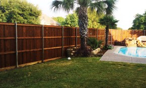 8 Ft Tall Board On Board Cedar Backyard Fence Fence for Fencing A Backyard
