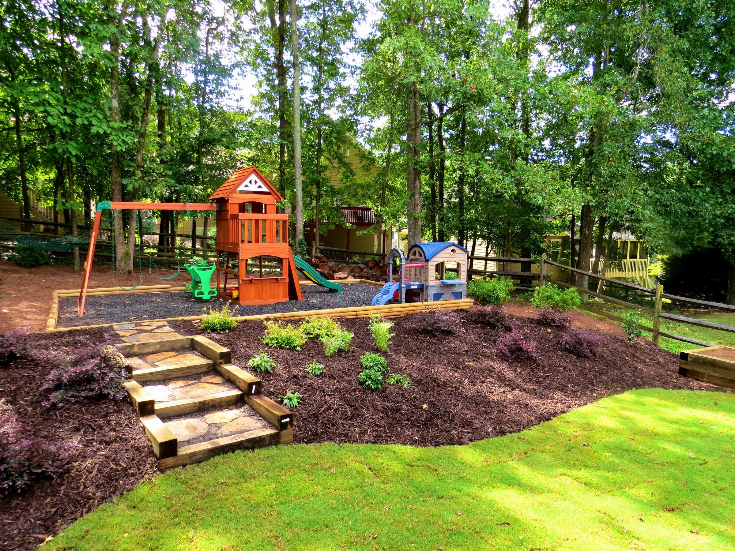 8 Romantic Backyard Hillside Landscaping Ideas Collection regarding 12 Clever Designs of How to Improve Backyard Hillside Landscaping Ideas