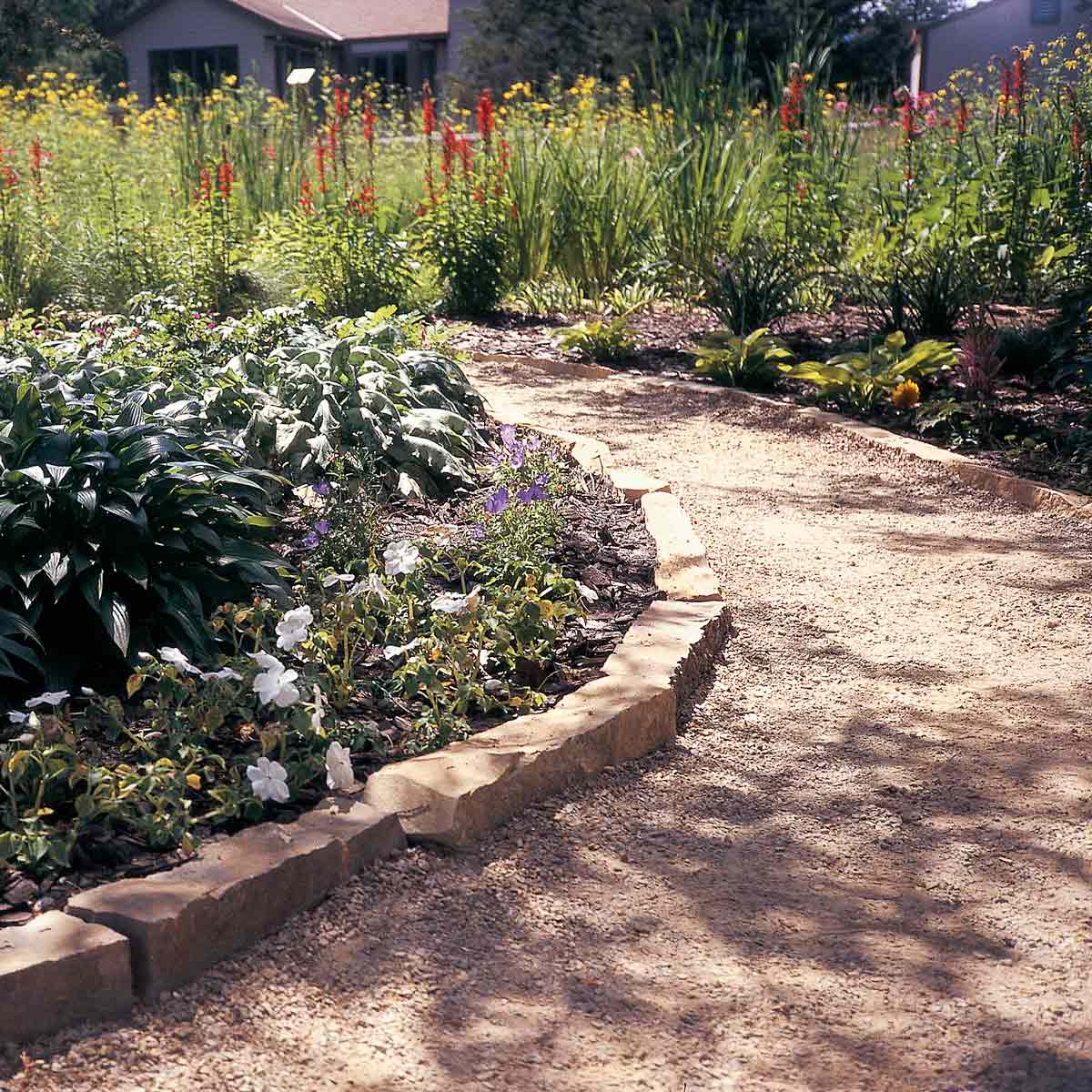 Affordable Garden Path Ideas Family Handyman throughout 15 Awesome Ideas How to Make Backyard Walkway Ideas