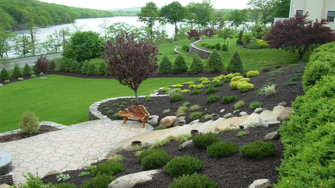 Amazing Designing Gardens On Slopes Slope Landscaping Ideas with regard to Landscaping Ideas For Downward Sloping Backyard