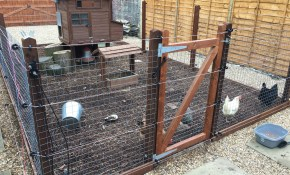 Back Yard Coop And Run With Electric Fence Chicken Coops Runs intended for Backyard Electric Fence