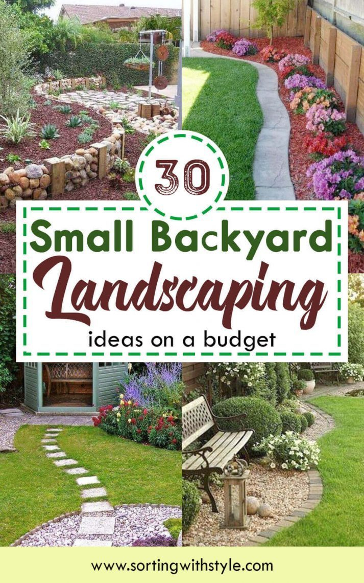 Backyard 30 Small Backyard Landscaping Ideas On A Budget regarding Affordable Landscaping Ideas Backyard