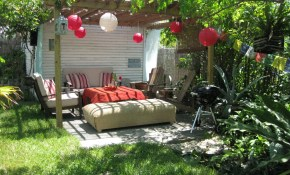 Backyard Decorating Ideas Project For Awesome Image with regard to 14 Genius Tricks of How to Build Cheap Backyard Decor