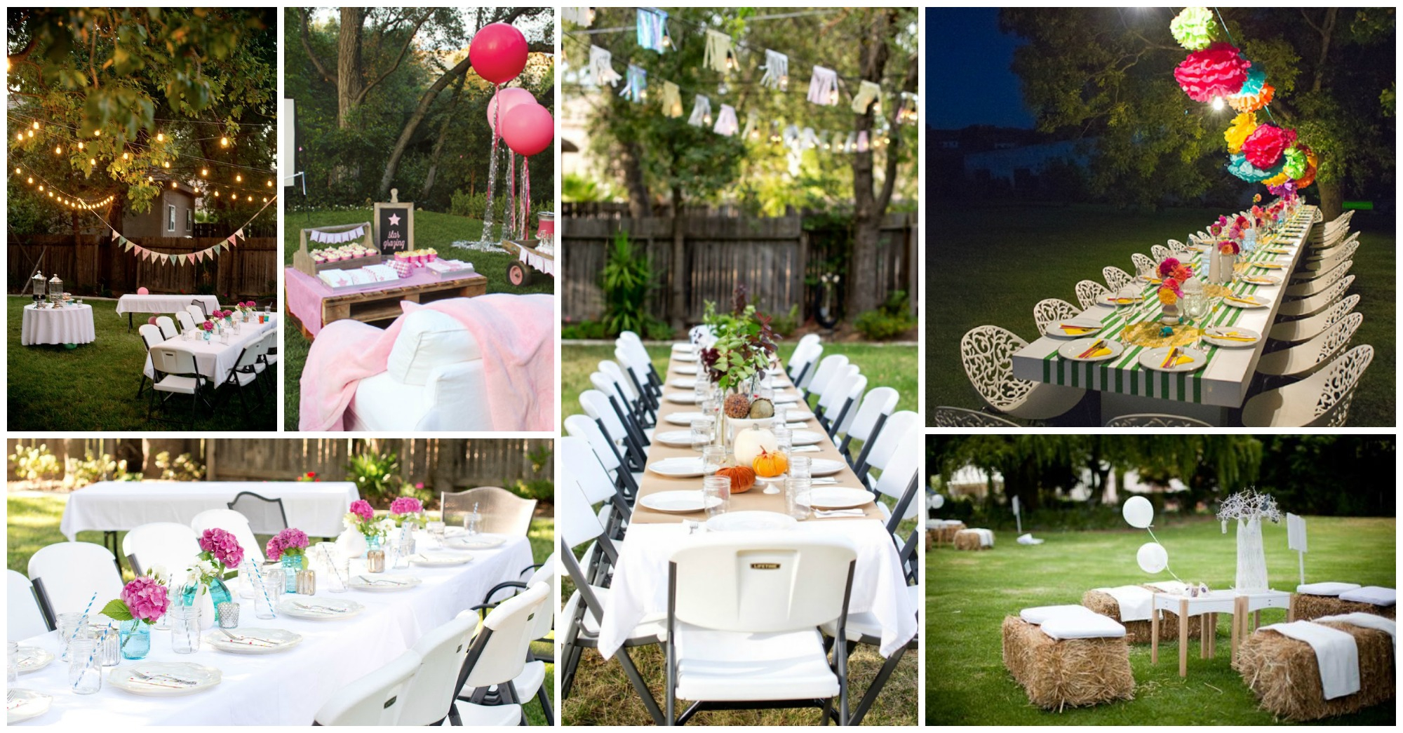 Backyard Party Decorations For Unforgettable Moments in Decorating Ideas For Backyard Party