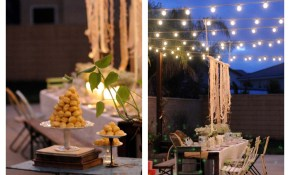 Backyard Party Ideas Outdoor Living Spaces Homes in Party Backyard Ideas