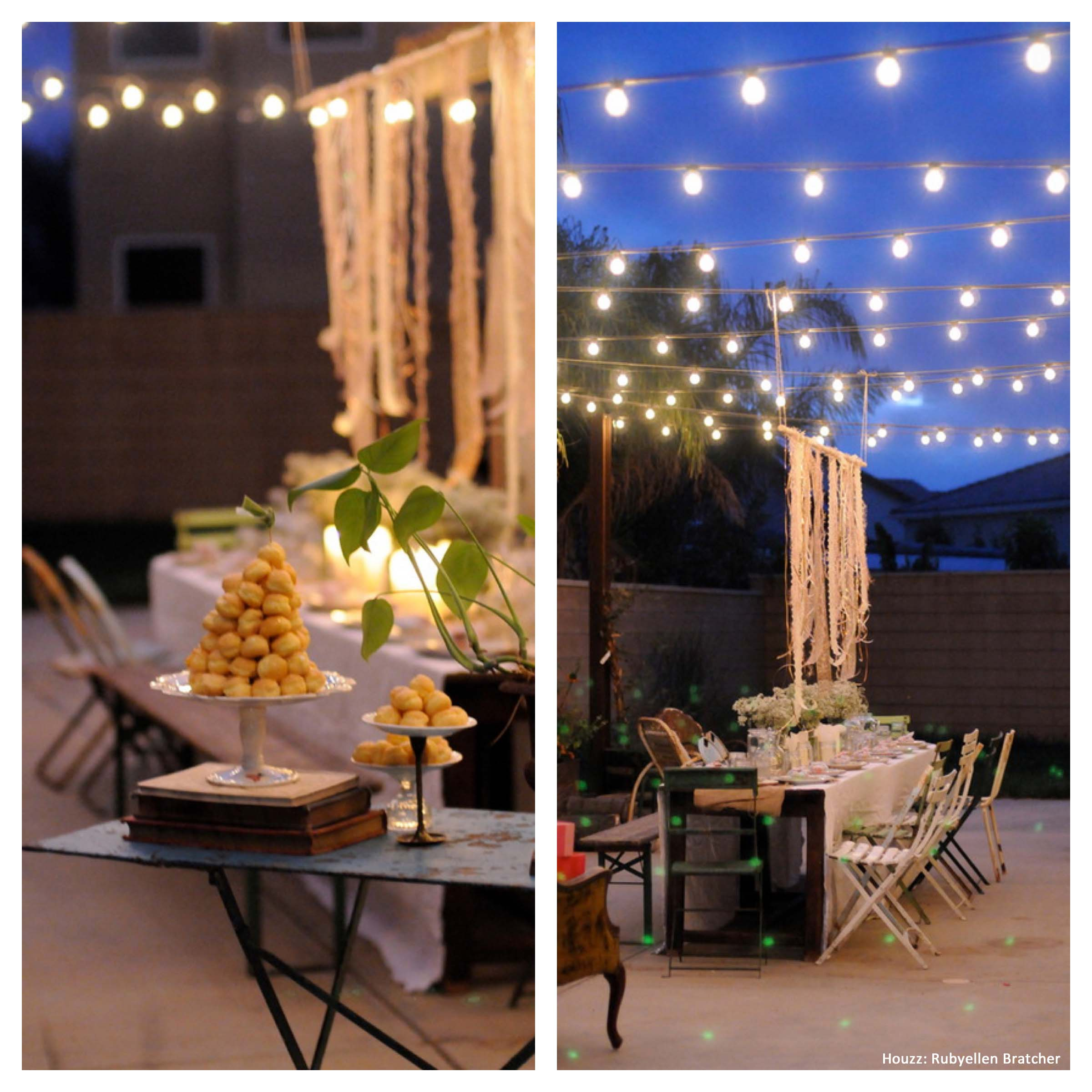 Backyard Party Ideas Outdoor Living Spaces Homes pertaining to Decorating Ideas For Backyard Party