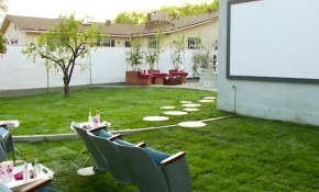 Backyard Porch Ideas On A Budget Patio Makeover Outdoor for 12 Clever Tricks of How to Improve Backyard Movie Ideas
