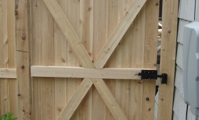 Backyard Wood Gates Google Search Fences Gates In 2019 pertaining to Backyard Fence Door