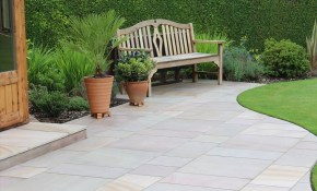 Beautiful Summer House And Patio Maple Sandstone inside Backyard Ideas For Summer
