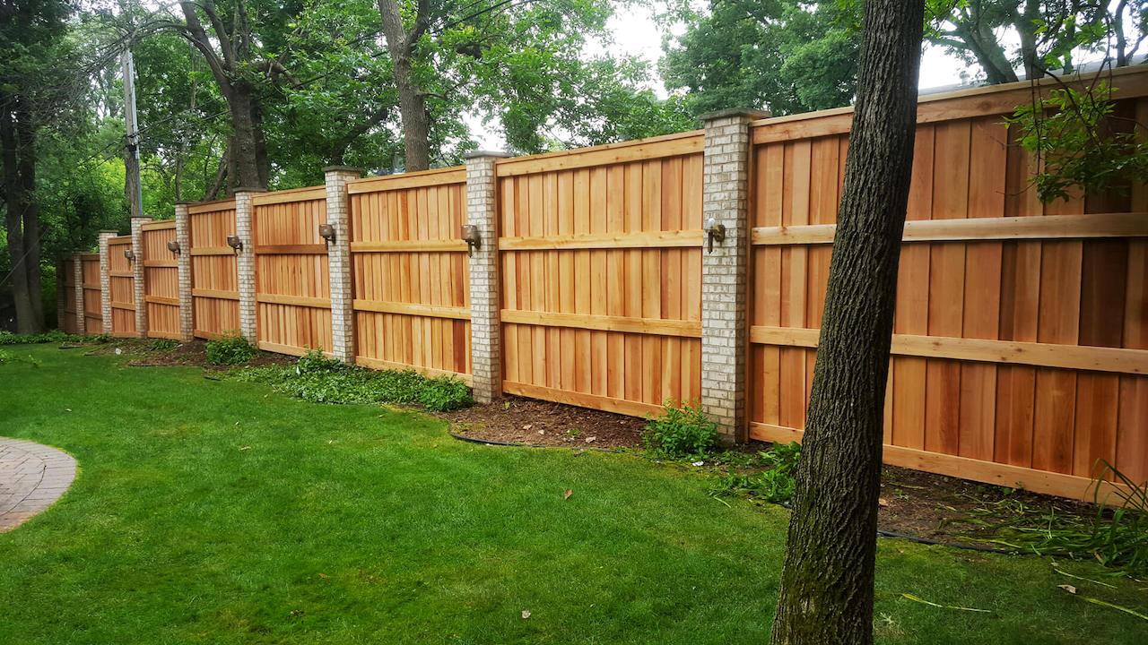 Best Fence Company Fences Lewis Center Oh Fencing throughout Best Backyard Fence