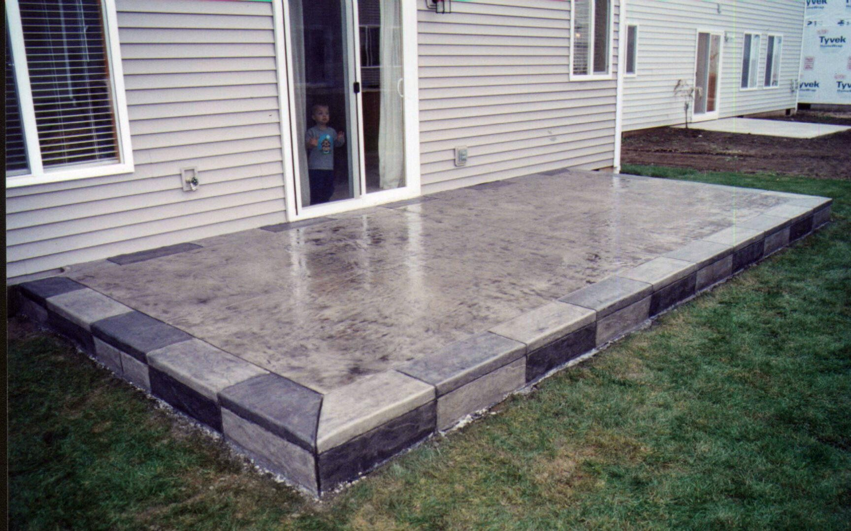 Best Patio Slabs Design Ideas Concrete Designs Layouts intended for 14 Smart Tricks of How to Upgrade Backyard Concrete Slab Ideas