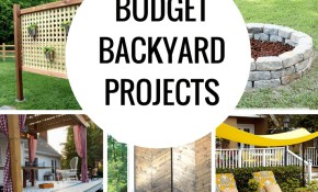 Budget Diy Backyard Projects To Do This Weekend Princess Pinky Girl in Affordable Backyard Ideas
