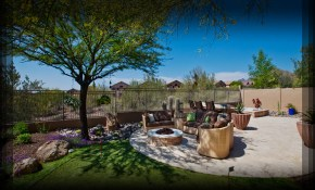 Cordial Arizona Backyard With Landscaping Design Phoenix inside 10 Smart Ideas How to Build Phoenix Backyard Landscaping Ideas