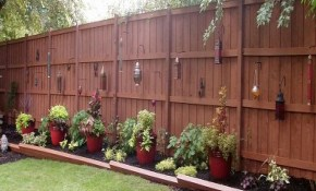 Creative Bedroom Wall Designs Unique Privacy Fence Ideas intended for Backyard Privacy Wall Ideas