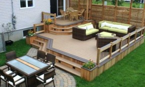 Deck Decorating Ideas Design Of Small Backyard Patio with regard to Small Backyard Patio Ideas