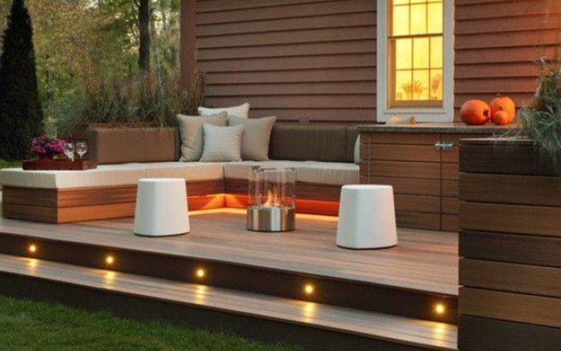 Deck Lights Lighting In Out In 2019 Outdoor Deck inside 11 Smart Designs of How to Craft Deck Backyard Ideas