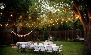 Decorate An Outdoor Backyard Summer Party Home throughout Backyard Party Decorating Ideas