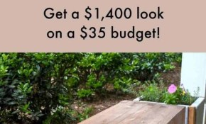 Diy Budget Backyard Ideas Princess Pinky Girl intended for Affordable Backyard Ideas