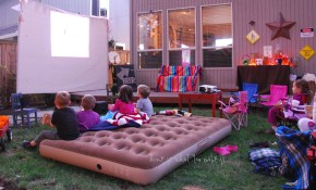 Fall Backyard Movie Night Home Is What You Make It pertaining to 12 Clever Tricks of How to Improve Backyard Movie Ideas