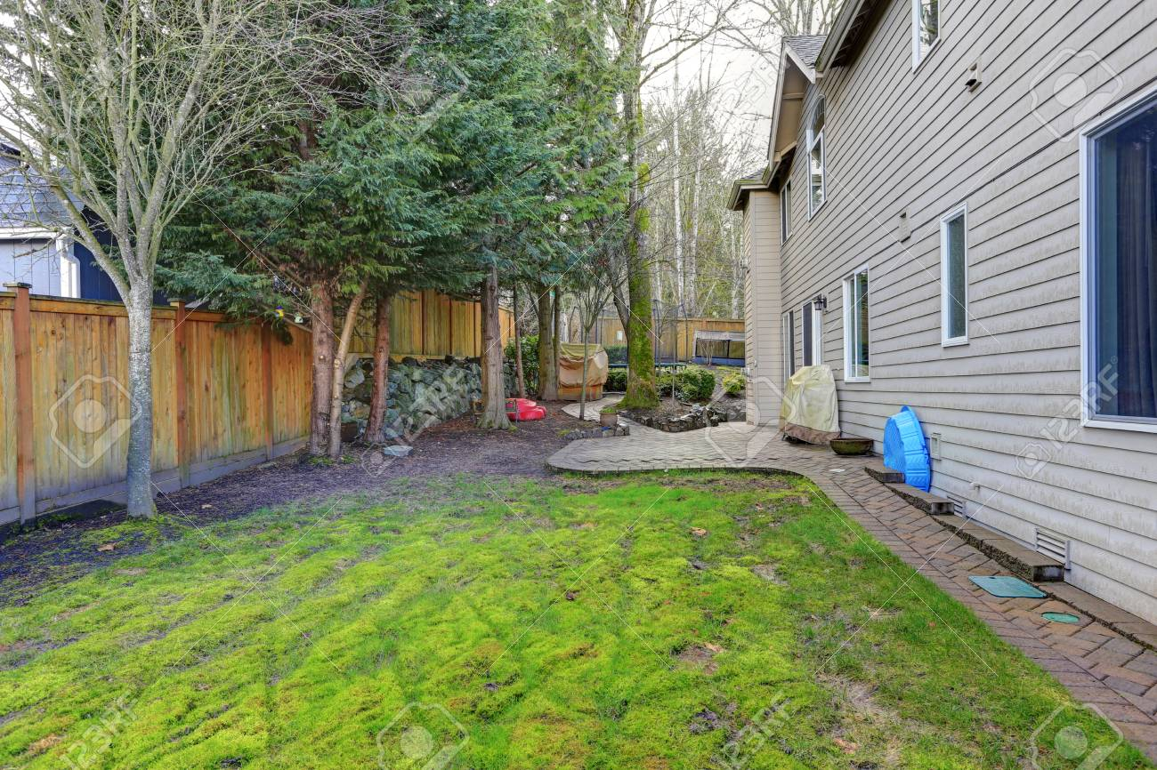 Fenced Backyard With Lots Of Space For Entertaining Offers Patio within Fenced In Backyard