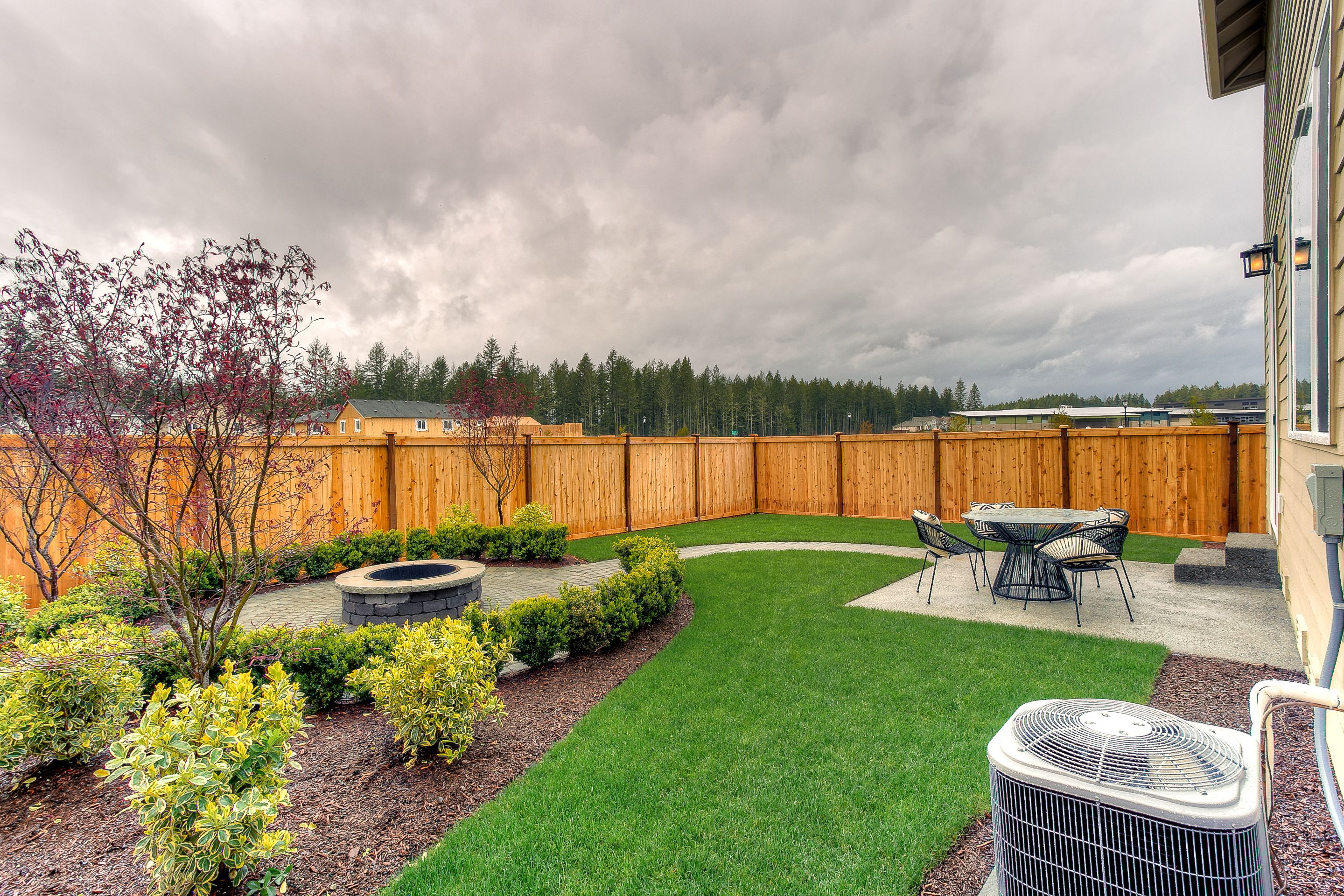 Fully Fenced Backyard In Every Home Built Lennar Seattle within Fenced In Backyard