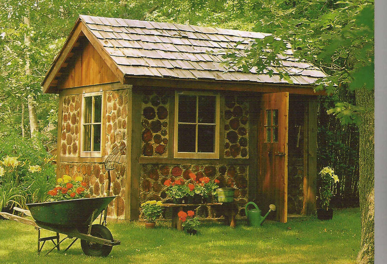 Garden Shed Designs Shed Blueprints pertaining to Backyard Shed Ideas