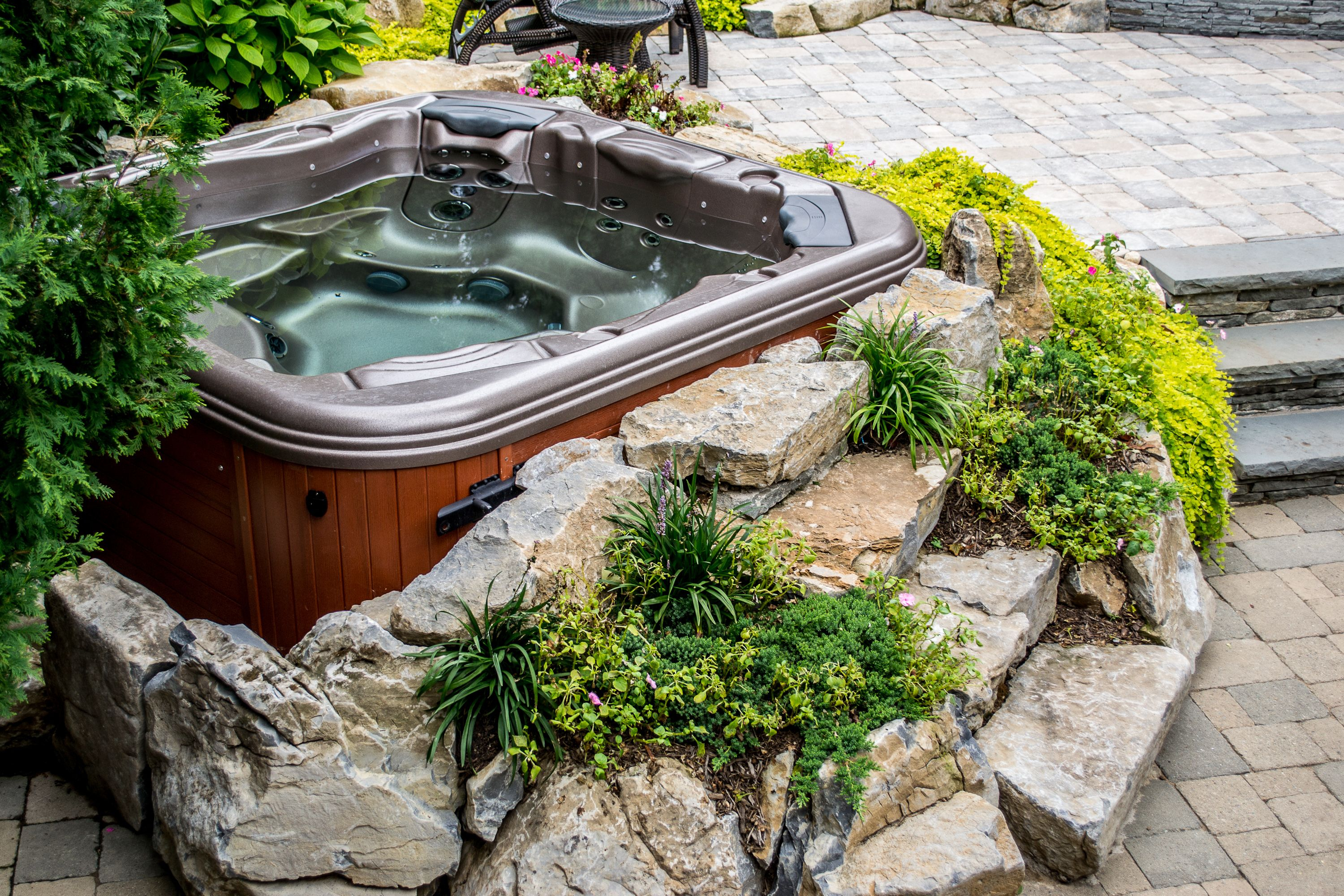 15 Awesome Designs of How to Craft Hot Tub Ideas Backyard ...