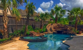 Houston Pool And Yard Landscaping Ideas Outdoor Perfection throughout 12 Clever Designs of How to Build Backyard Pool Landscaping Pictures