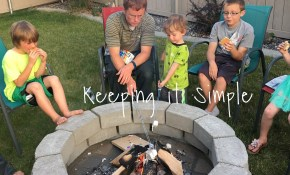 How To Build A Diy Fire Pit For Only 60 Keeping It Simple with regard to Fire Pit Backyard Ideas