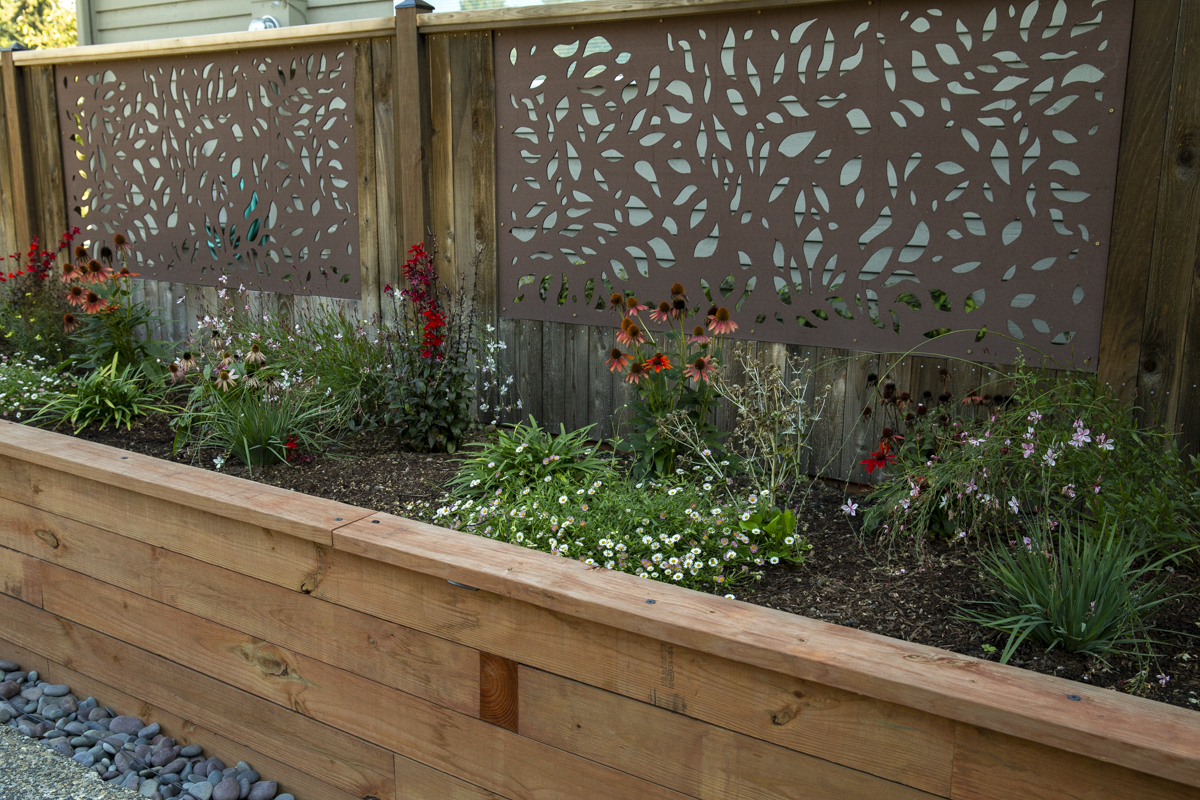 How To Build A Framed Panel Fence Diy Fence Frame intended for 14 Clever Concepts of How to Improve How To Build Backyard Fence
