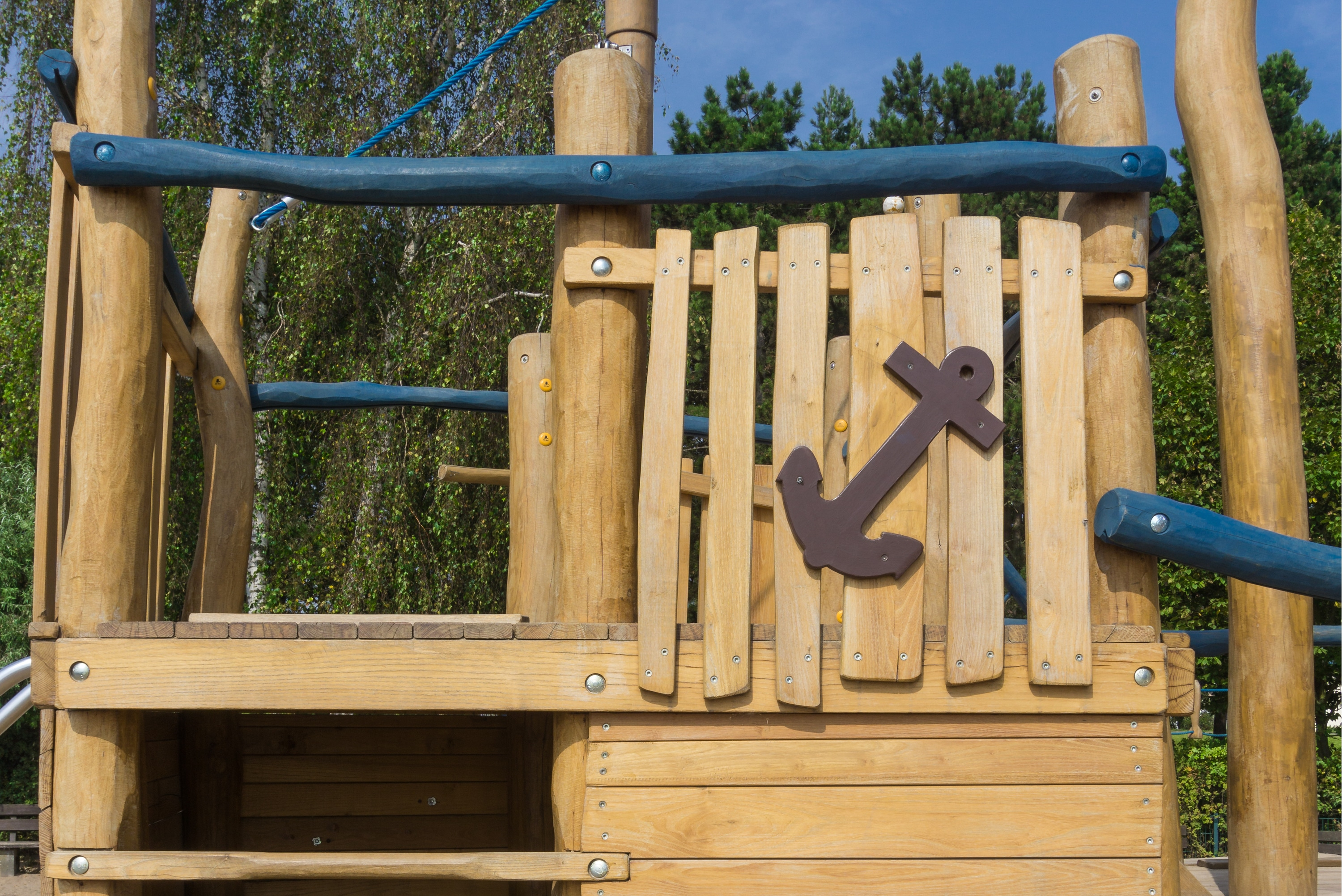 How To Build Outdoor Wooden Playground For Kids Equipment Design in 13 Clever Tricks of How to Upgrade Small Backyard Playground Ideas