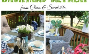 How To Create A Backyard Oasis Clean And Scentsible for 11 Smart Ways How to Build Backyard Oasis Ideas