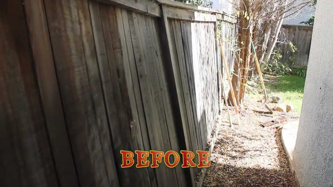 How To Fix A Leaning Fence inside 15 Clever Ways How to Upgrade Backyard Fence Repair