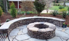 Inexpensive Backyard Fire Pit Ideas Best Fireplaces inside 14 Smart Initiatives of How to Makeover Backyard Fire Pit Ideas Landscaping